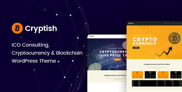 Cryptish – Cryptocurrency WordPress Theme